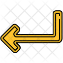 Turn Arrow Sign Icon