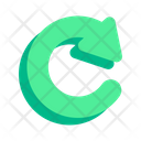Turn Pointer Arrow Icon