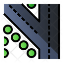 Turn Left Road Sign Icon