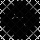 Turn Left Arrow Location Icon
