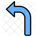 Turn Left Icon