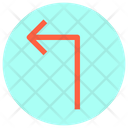 Turn-left-arrow Icon