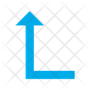 Arrow Left Turn Icon