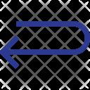 Turn Arrow Left Icon