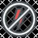 Turn Off Flash No Flash Flash Icon