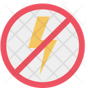 No Flash Prohibition Forbidden Icon