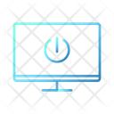Turn Off Monitor Smarthome Technology Icon