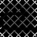 Arrow Outline Icon Icon
