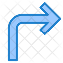 Turn Right Turn Right Icon