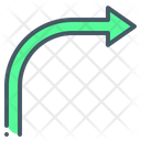 Turn Right Icon