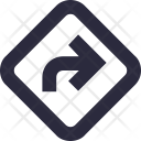 Turn Right Arrow Icon