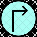 Turn Right Arrow Arrow Direction Icon