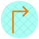 Turn Right Arrow Arrow Direction Icon