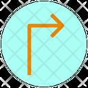 Turn-right-arrow Icon