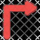 Turn Right Arrow Directional Arrow Navigation Arrow Icon