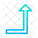 Turn Right Up Icon