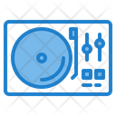 Turn Table Audio Music Icon
