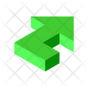 Arrow Turn Up Icon