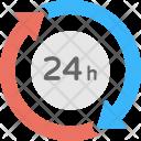 Turnaround Time 24 Icon