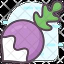 Turnip Vegetable Diet Food Icon