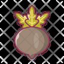 Turnip Beetroot Vegetable Icon