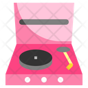 Turntable Record Player Music And Multimedia Icon
