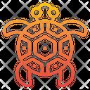 Turtle Ocean Sea Icon