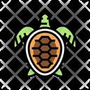 Turtle Ocean Underwater Icon