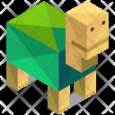 Turtle Animal Isometric Icon