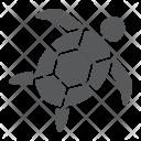 Sea Turtle Animal Icon