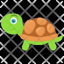 Turtle Crawling Creeping Icon