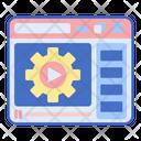 Tutorial Video Guide Video Lesson Icon
