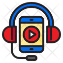 Tutorial Audio Online Learning Listen Icon
