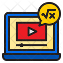 Tutorial Video Online Learning Vedio Player Icon