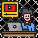 Tutorial Video Vedio Class Video Icon