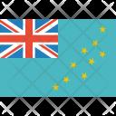 Tuvalu Flag World Icon
