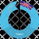 Tuvalu Country Flag Icon