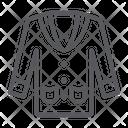 Tuxedo Clothes Suit Icon