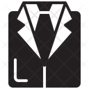 Tuxedo Black Tie Suit Icon