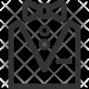 Tuxedo Dress Costume Icon