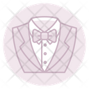 Tuxedo Suit Marriage Suit Icon