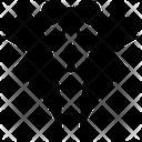 Tuxedo Clothing Suit Icon