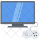 Tv Gamepad Video Icon