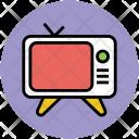 Tv Set Television Icon