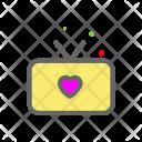 Tv Heart Love Icon