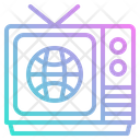 Tv Television Journalist Icon