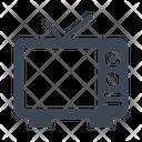 Tv Antenna Entertainment Icon
