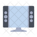 Electronic Lcd Monitor Icon