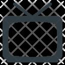 Tv Television Retro Icon