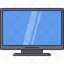 Tv Set Gadget Icon